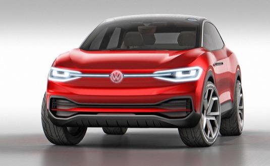 auto elektromobil Volkswagen Crozz ID.4