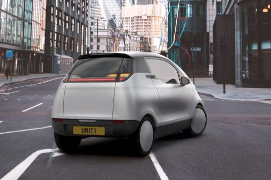 auto elektromobil Uniti One