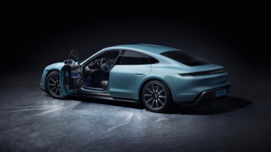 elektromobil Porsche Taycan