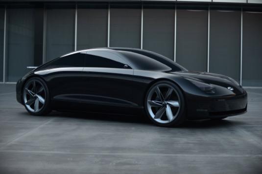 auto elektromobil Hyundai Prophecy