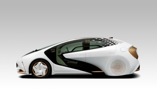 koncept elektromobilu Toyota LQ
