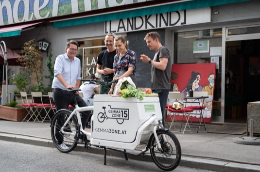 Vídeňská radnice navyšuje dotace na nákladní elektrokola pro firmy.