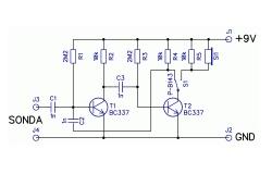 Nízkofrekvenční generátor/sledovač
