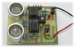 Ultrazvukový detektor přiblížení
