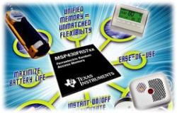 První mikrokontrolér TI s pamětí FRAM
