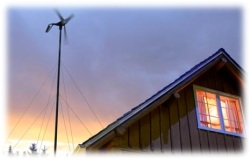 Malá větrná elektrárna - zdroj nevyčerpatelné energie