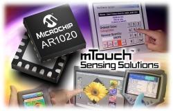 AR1000 – snímač pro odporové dotykové plochy