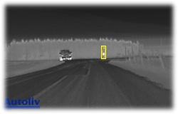 Autoliv nasazuje procesory TI pro systém nočního vidění s detekcí chodců