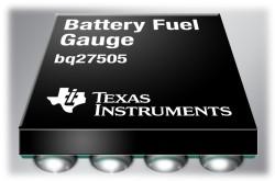 Nejmenší bateriové obvody s technologií Impedance Track