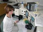 průtokový cytometr z laboratoře ÚEB - přístroj pro počítání a měření mikroskopických částic